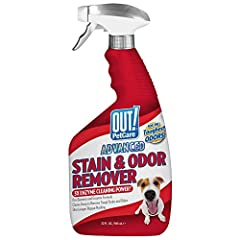 CLEANING AWESOMESAUCE - Our 3X-concentrated Pro-Bacteria and enzyme formula removes the toughest pet stain and odor, such as urine, vomit, feces, blood and more. CLEAR THE AIR - Why cover up nasty odors when you can quickly neutralize them with OUT A...