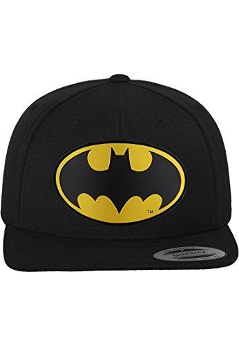 Batman Damen / Herren Flexfit Snapback Kappe Unisex Logo Baseball-Cap Erwachsene