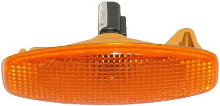 OE Replacement Hyundai Santa Fe/Tucson Front Driver/Passenger Side Marker Light Assembly (Partslink Number HY2550107)