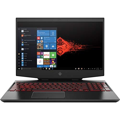 CUK OMEN 15 Inch Gaming Notebook (Intel Core i7, 32GB RAM, 512GB NVMe SSD + 1TB HDD, NVIDIA GeForce RTX 2070 8GB Max-Q, 15.6' FHD 144Hz IPS, Windows 10 Home) Gamer Laptop Computer (Made_by_HP)