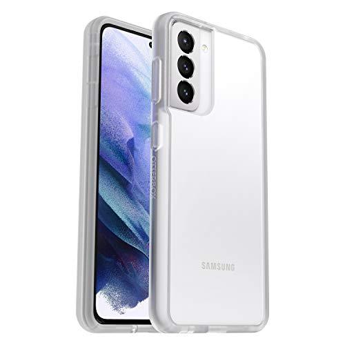 OtterBox Sleek Case, transparente, sturzsichere Schutzhülle für Samsung Galaxy S21, Transparent (ohne Einzelhandelsverpackung)