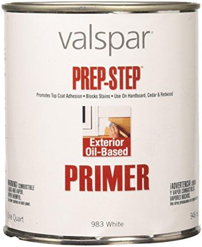Valspar 44-983 QT 983 Exterior Primer, 32 Fl Oz (Pack of 1), White