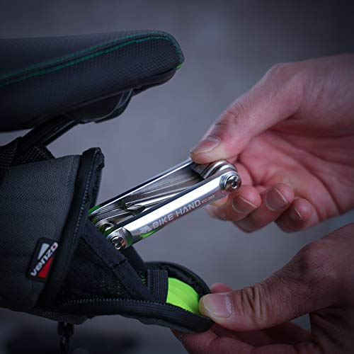 BIKEHAND Bicycle Bike Portable Mini Multitool Repair Tools - Cycling Mountain MTB Bike Accessories Multi Maintenance Tool Kit