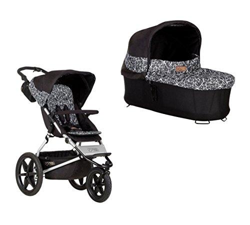 Mountain Buggy Terrain 3 + Carrycot Babywanne graphite