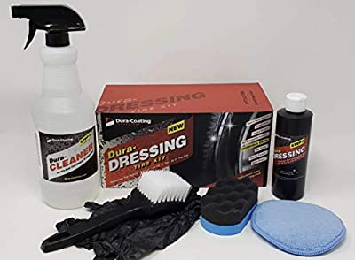 Dura-Dressing Total Tire Kit XL (2-3 Cars/1 Large Truck) Made in USA