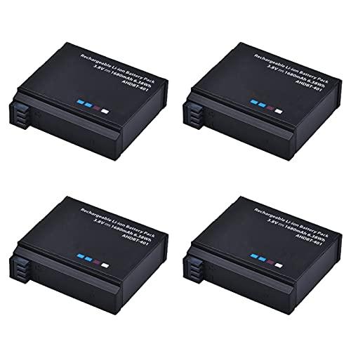 3,8 V 1680 mAh AHDBT 401 para Go Pro AHDBT-401 AHDBT401 batería de Iones de Litio para cámara Digital para GoPro 4 HD Hero 4 Hero4 4B