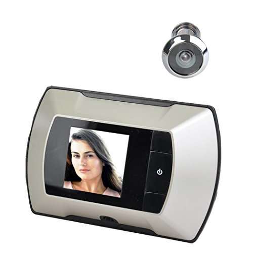 "2.4"" LCD Digital Peephole Viewer 100 deg; Door Eye Doorbell HD Camera"