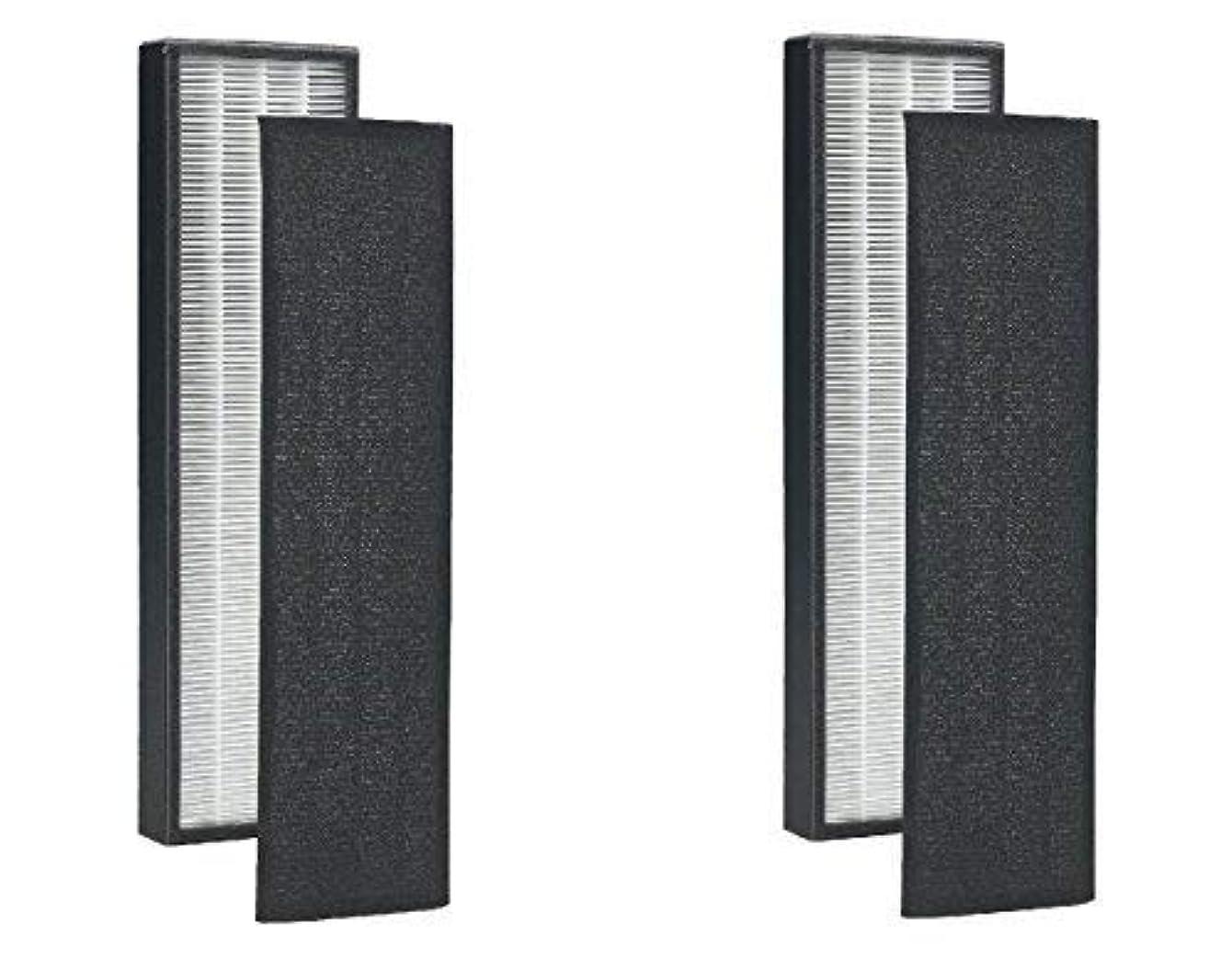 2 Pack - True HEPA Replacement Filter for GermGuardian FLT5000/FLT5111 AC5000 Series, Filter C Germ Guardian