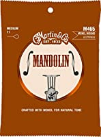 MARTIN M465 Mandolin Monel Wound Medium マンドリン弦