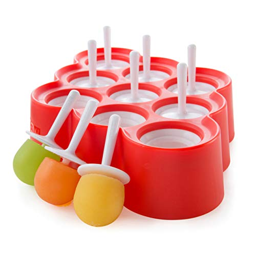 Zoku Mini Pop Molds With Sticks and Drip-guards