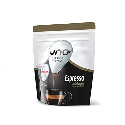 Kimbo Capsule di Caffè Espresso Sublime, Kimbo UNO System, 6 Pacchi da 16 Capsule (Totale 96 Capsule)