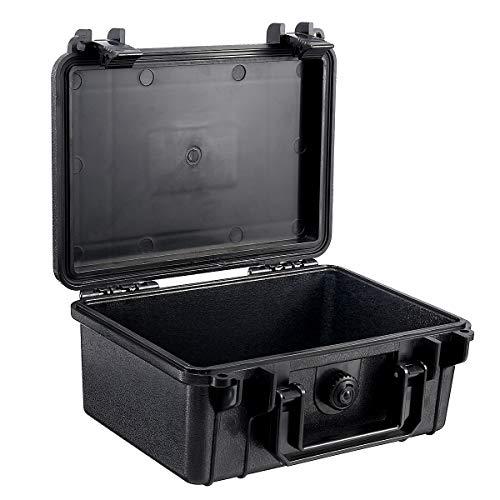 MASUNN 210X165X85Mm Wasserdicht Duro Portrait-Kamera-Linse Fotografie Werkzeug Caso Aufbewahrungsbox mit Schwamm