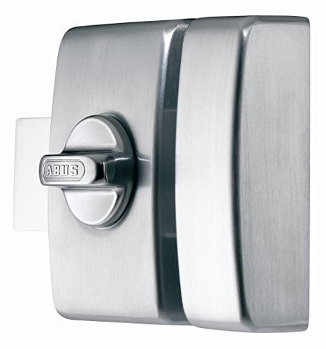 Abus 36958V B F9e–Cerrojo de botón sin cierre con llave/bodega Satin cromo