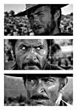 THE GOOD THE BAD AND THE UGLY CLINT EASTWOOD 3 GIANT