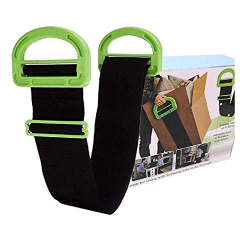 2 Packungen verstellbare Hebe-Umzugsgurte mit Griff, Arbeitsersparnis oder schwere, sperrige Gegenstände, Möbel, Boxen, Matratze