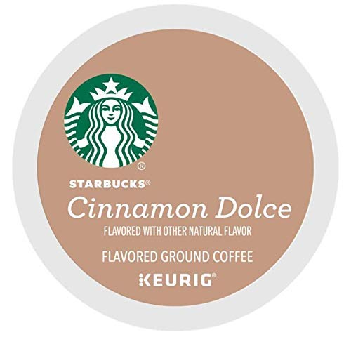 Starbucks Cinnamon Dolce Coffee single serve capsules for Keurig K-Cup pod brewers (32 Count)