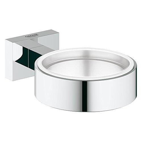 GROHE Essentials Cube Halter für Becher, Seifenspender oder Seifenschale 40508000