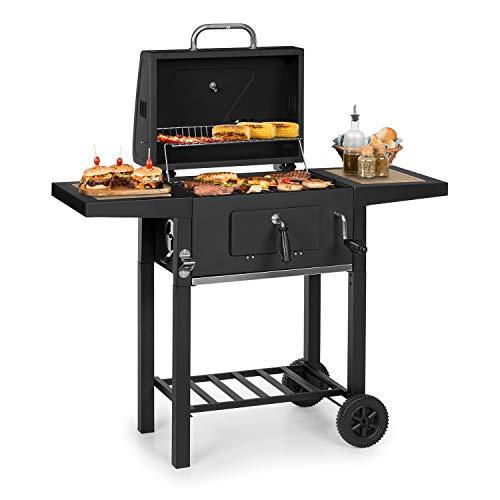 KLARSTEIN Meat Machine - Barbacoa de carbón, 45 x 32,5 cm, Sistema...
