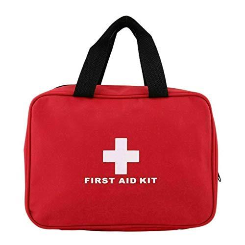 106-teiliges Erste-Hilfe-Set, medizinische Notfall-Erste-Hilfe-Tasche für Reisen – inklusive 2 x sofortige Kühlpackungen (Eis) und Notfalldecke für Zuhause, Auto, Taxi, Arbeit, Reisen