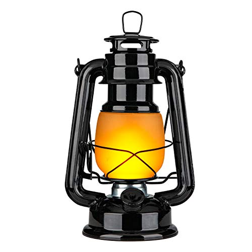 Yinuo Candle Flame Light Vintage Lantern Flickering Camping Lantern Tent Light with Two Models LED Night Lights with Battery Operated