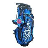 ボールバッグ Golf Bag キャディバッグ ゴルフスタンドバッグ クラブケース 9ポケット (ブルー)