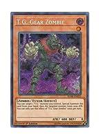 遊戯王 英語版 BLHR-EN023 T.G. Gear Zombie TG ギア・ゾンビ (シークレットレア) 1st Edition