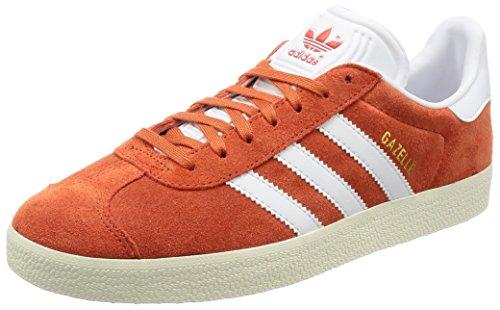 Adidas Herren Gazelle Sneaker , Orange (Future Harvest/footwear White/gold Metallic) , 39 1/3 EU