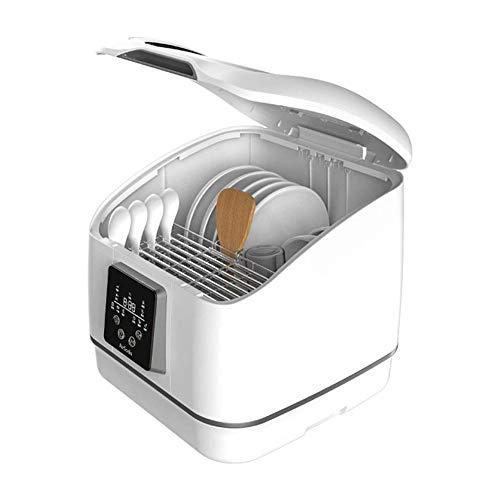 LKNJLL Complete Portable Lave-Vaisselle 8 Countertop litres intégré Réservoir d'eau, Les programmes, Baby Care, Fruit Wash