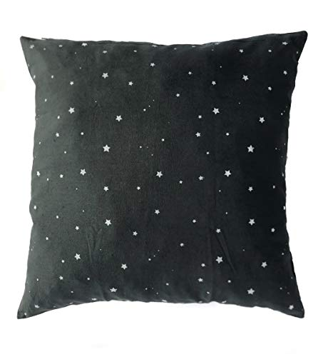 Kalakriti Funda de Cojin o Almohada Algodon Estampado Estrellas 45x45