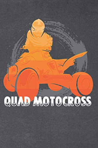 Quad motocross expenses planner: Quad motocross racing is your thing as a biker | Expenses planner with 130 lined pages | Format 6x9 DIN A5 | Soft cover matt |