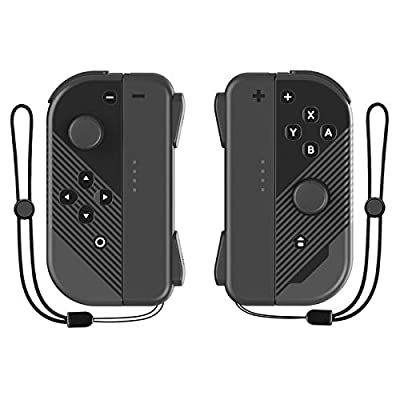 Walmeck 1 Pair Left & Right Gaming Joysticks Game Controller HandleCompatible with SwitchConsole Christmas Easter Birthday Gift for Adult Kids Boy