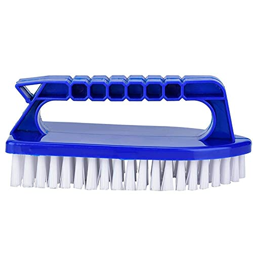 Pool Step Corner Brush Hand-held Door Window Cleaning Tools with Fine Bristles Best for Swimming Pools, Spas & Hot Tubs