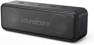Portable Bluetooth Speaker, Soundcore Motion B by Anker, 12W IPX7 Waterproof, Bluetooth 4.2 Speaker with 12-Hour Playtime, Dual-Driver with Built-in Mic, Compatible with iPhone, Samsung, and iPad