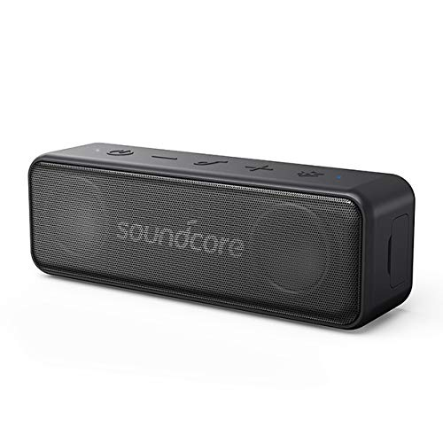 Anker Soundcore Bocina Bluetooth Motion B, 12W de potencia alta calidad, impermeable IPX7, bluetooth 4.2, hasta 12 horas de...