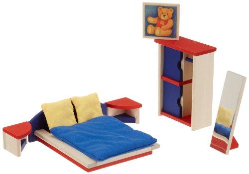 Selecta 4352 - Ronda Schlafzimmer Puppenhausmöbel
