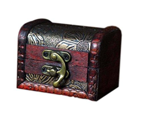 millésime du Lotus caisson à bijoux en bois de cas cosmétique