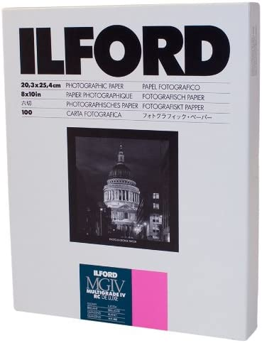 Ilford Multigrade IV RC Deluxe Resin Coated VC Paper 8x10 100 Pack Glossy product image