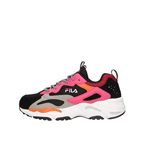 FILA RAY TRACER WMN Sneakers femmes Zwart/Roze - 40 EU - Lage sneakers