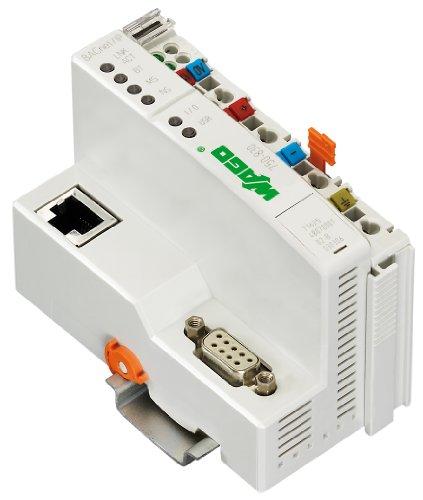 WAGO 750–830Modul Digital und Analog I/O–Module Digitale und analoge I/O (ROHS, CE, UL, 50,5x 100x 71,1mm, grau, 25–85°C)