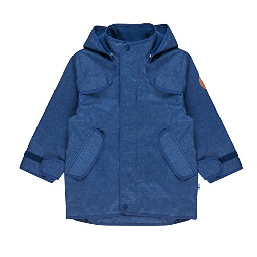 Finkid Tuulis Ice denim Kinder Zip In Outdoor Parka