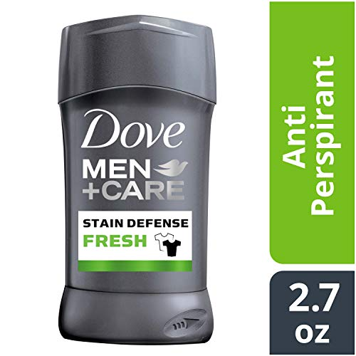 Dove Men+Care Stain Defense Antiperspirant Deodorant Stick, Fresh, 2.7 oz