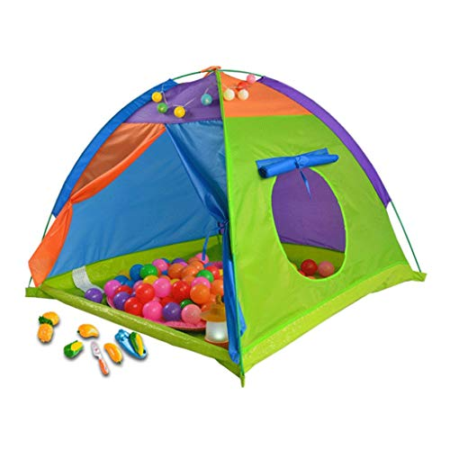 YDHWY Kids Tent Indoor Children Play Toy Toddler Pop up Outdoor Games Colourful Curvy