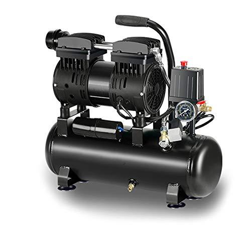 Luftpumpe Ölfreie Silent Luftkompressor, Druck 8 Bar Motor, 220V Kleine Hochdruck Silent Luftpumpe, 800W-12L Dekoration