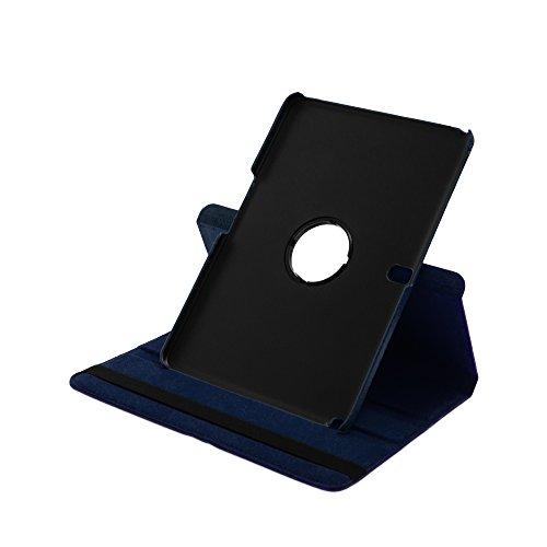 Drehbare Hülle mit Standfunktion für Samsung Galaxy TabPRO 10.1 in BLAU mit automatischer Sleep- & Wake-Up-Funktion [passend für Modell SM-T520, SM-T525]