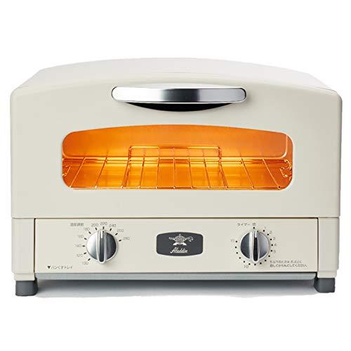 Aladdin (アラジン) グラファイト トースター 2枚焼き 温度調節機能 タイマー機能付き [遠赤グラファイト 搭載] ホワイト AET-GS13B(W)