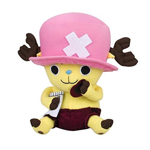 JMUNG One Piece Chopper Plüsch Kawaii Kissen Weiche Kuscheltiere Niedliche Cartoon Spielzeug Geschenke Für Kinder 28 cm