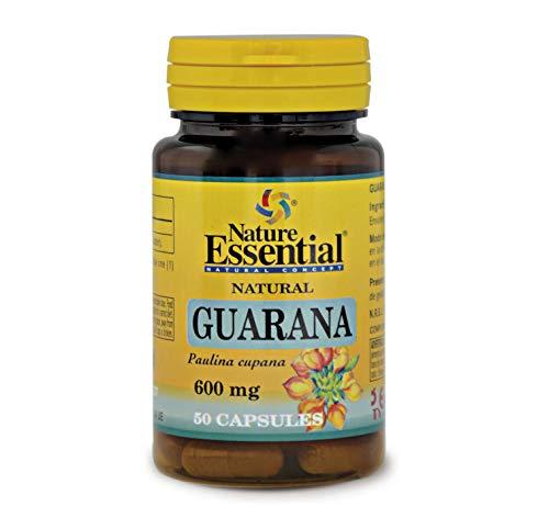 NATURE ESSENTIAL | Guaraná 600 mg | 50 Cápsulas