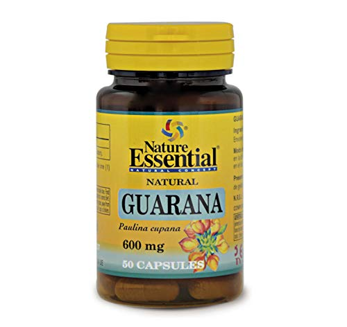 Guaraná 600 mg. 50 capsulas