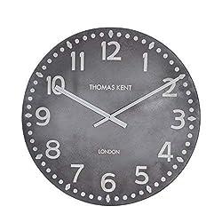 Thomas Kent 0816SNJAXPC Wall Clock, 30, Gray