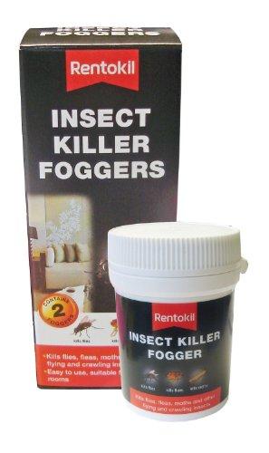 Rentokil 3x FI65 Insect Killer Foggers (Pack of 2)